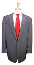 * OXXFORD * Recent Light Gray Pinstripe 2-Btn Handmade Wool Suit 44L - $276.50