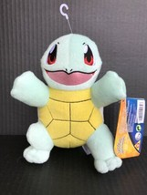"""Pokemon Squirtle 8"""" Plush Doll Toys Authentic Official TOMY New With Tag... - $15.99"""