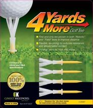4 Yards More Golf Tee 2 3/4 inch Standard - $3.99+