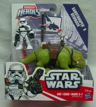 Hasbro Star Wars Galactic Heroes SANDTROOPER & DEWBACK Action Figures NEW - $16.34