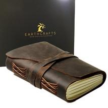Antique Brown Handmade (7 x 5 Inch) Leather Journal Notebook/Notepad Gen... - $71.12