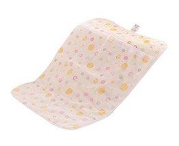 Baby Infant Urine Mat Cover Changing Pad Crib Mattress Pad, Yellow