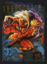 Dave De Vries Signed 1995 Fleer Ultra X-Men Art Card Sabretooth Hunters Stalkers - $14.84
