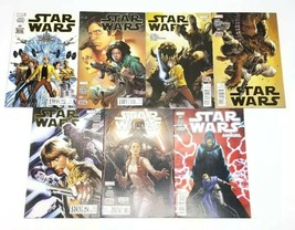 Star Wars 1 9-13 & Annual #1 First Print Marvel Comic Lot Volume 3 Jason... - $48.37