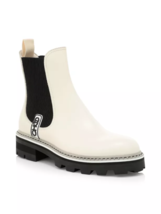 Jimmy Choo Cruise Blayse Leather Chelsea Boots Size 41 MSRP: 895.00 - $643.50