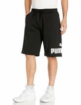 """PUMA Men's Big Fleece Logo Short 10"""" Small Puma Black - $74.24"""