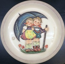 """Goebel - M.J. Hummel 1975 First Edition Anniversary Plate """"Stormy Weather"""" - $19.79"""
