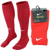 Nike Classic Cushioned Knee High Over The Calf Soccer Socks RED SX5728-6... - $13.63