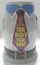 Budweiser Salutes Dad Stein GiftWare Edition - $29.99
