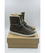 Ugg Starlyn Australia Sheepskin High Top ankle Sneakers in Mouse Nubuck new - $84.14
