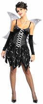 Cosmic Fairy Pixie Gothic Secret Wishes Fancy Dress Up Halloween Adult Costume - $48.53