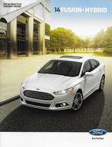 2014 Ford FUSION sales brochure catalog interactive US 14 SE Titanium HY... - $8.00