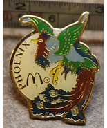 McDonalds Phoenix Arizona USA Bird Peacock Collectible Pinback Pin Button - $13.99