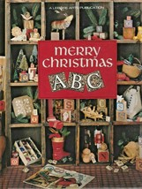 """Hard Covered Book - """"Merry Christmas A B C"""" - Leisure Arts - Gently Used - $18.00"""