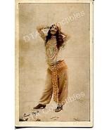 EXOTIC TINTED PIN-UP-ARCADE CARD-1910! G