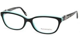 New Tiffany & Co. Tf 2127-B-F 8055 Black Eyeglasses Frame 55-17-140mm B36 Italy - $212.84