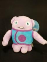 "Dreamworks Movie Home Boov Alien Purple Blue Plush Stuffed 6"" Tall With Tags - $10.68"