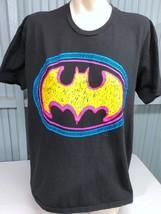 Batman Classic Day-Glo Logo DC Comics XXL T-Shirt - $15.59
