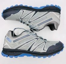 Neuf Fila Northampton Gris Bleu Clair Trail Baskets Neuf Femmes Chaussures
