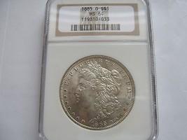 1885-O , Morgan Silver Dollar ,  NGC , MS 64 - $89.10