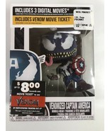 Funko Pop Venomized Captain America Vinyl Figure #364 Venom Brand New In... - $19.80