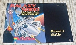 Galaxy 5000 Racing NES Nintendo Instruction Manual BOOK Only NO GAME OR ... - $20.09