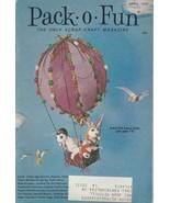 Pack O Fun April 1971 Easter Balloon Valet Mirror Vaudeville Costumes Pu... - $5.93