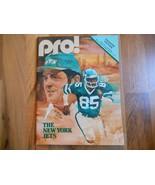 Old Vintage 1979 Pro! Program Magazine Green Bay Packers New York Jets N... - $49.99