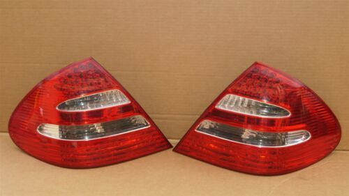 03-06 Mercedes W211 E320 E500 LED Taillight Tail Lights Lamps Set L&R