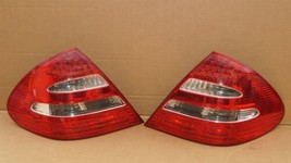 03-06 Mercedes W211 E320 E500 LED Taillight Tail Lights Lamps Set L&R image 1