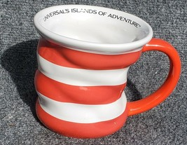 Cat In The Hat Mug - Authentic Universal Islands Of Adventure Merch - $18.78