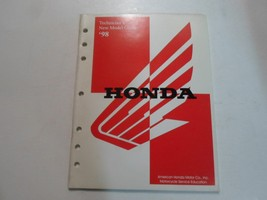 1998 Honda Technician's New Model Guide Motorcycle OEM 1998 Honda - $10.26