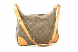 LOUIS VUITTON Monogram Boulogne 30 Shoulder Bag M52165 LV Auth rd201 - $360.00