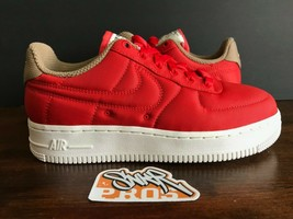 Nike W Air Force 1 '07 Lx Habanero Red White 898889 600 Us Wmns Sz 10 - $98.99