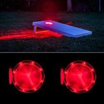 Cornhole Lantern - RED - $37.50