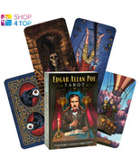 EDGAR ALLAN POE TAROT CARDS DECK  AND BOOK KIT LLEWELLYN ESOTERIC SPIRIT... - $53.45