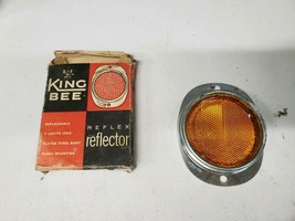 Vintage NOS King Bee Reflector 249 Amber/Yellow (a2310) - $15.56