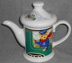 Wade Ceramic Locomotive Joe 16 Oz Teapot Judith Wooten Made In England - $29.69