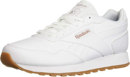 Reebok Women's Classic Harman Run Walking Shoe, us-white/rose gold/gum, 8 M US - $193.16