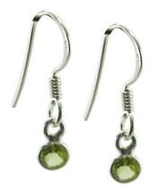 appealing Peridot 925 Sterling Silver Green genuine gemstone CA gift - $11.05