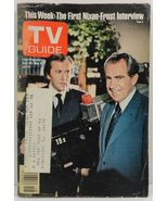 TV Guide Magazine April 30, 1977  Richard Nixon David Frost - $3.99