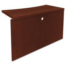 Mayline Mira Series Wood Veneer Bridge  48w x 24d x 29h  Medium Cherry - $272.99