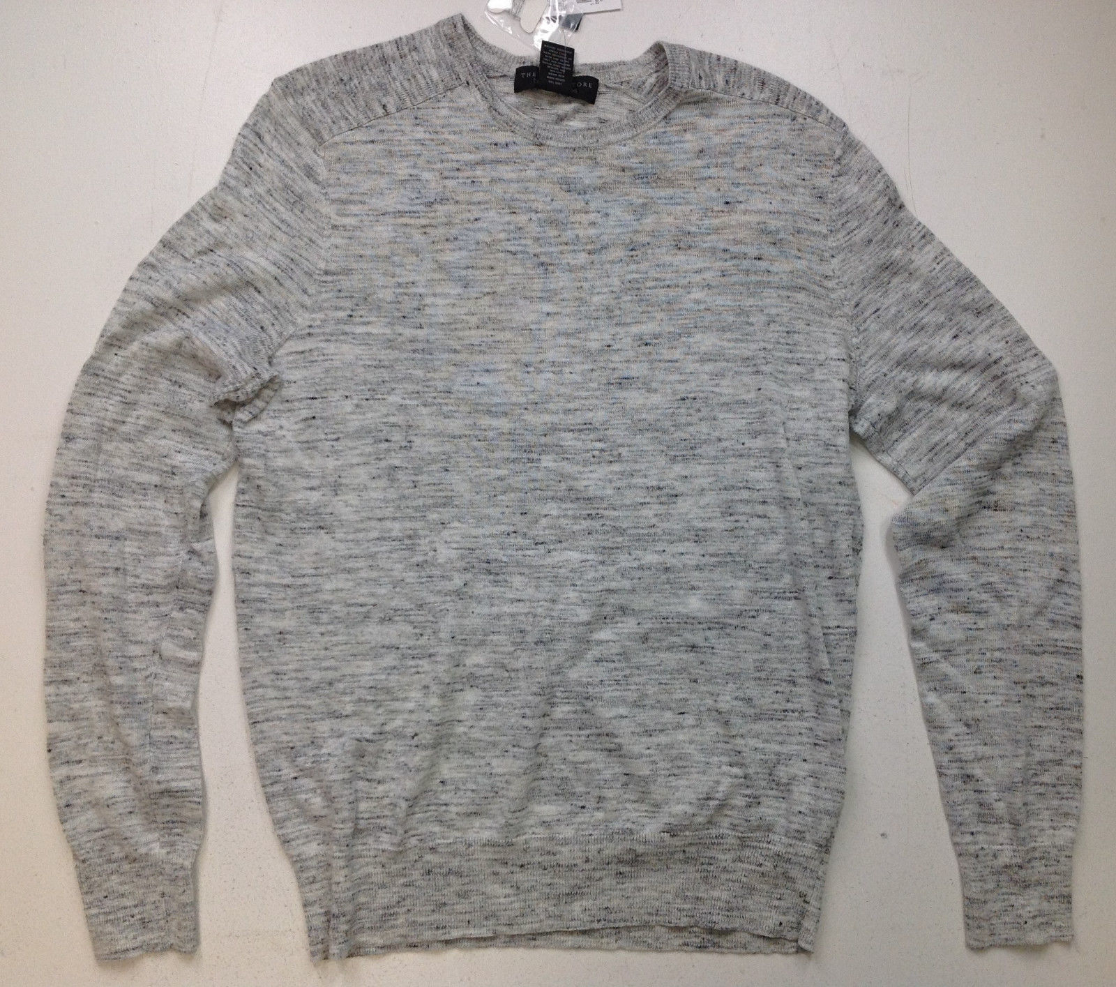 The Men's Store at Bloomingdale's Cotton Linen Space Dyed Sweater, Size XL, $98