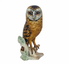 Owl figurine vtg sculpture Goebel Hummel Western Germany W 1975 barn orf... - $64.35