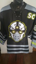 Adult Hockey Jersey L Geek Jerseys Lace up #88 Goalie Mask FABOK SC - $45.54