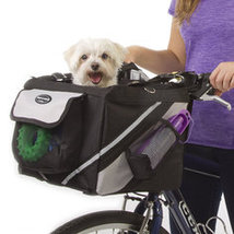 Pet Puppy Bicycle Basket Storage Puppy Ride Bike Canopy Dog Cat Carrier ... - $69.99