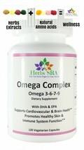 OmegaComplex 120 Capsules Omega 3,6,7,9 Biomedical Natural Formula, Immune Up. - $16.75