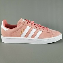 Adidas Campus Suede Shoes Womens SZ 9.5 Fashion Sneakers Pink Rose Cloud... - $74.79