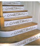 Reusable Stencil Westbury Stair Riser, Classical decor, DIY home decor - €22,40 EUR
