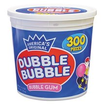 Dubble Bubble Tub Original 300 Pieces - $22.01